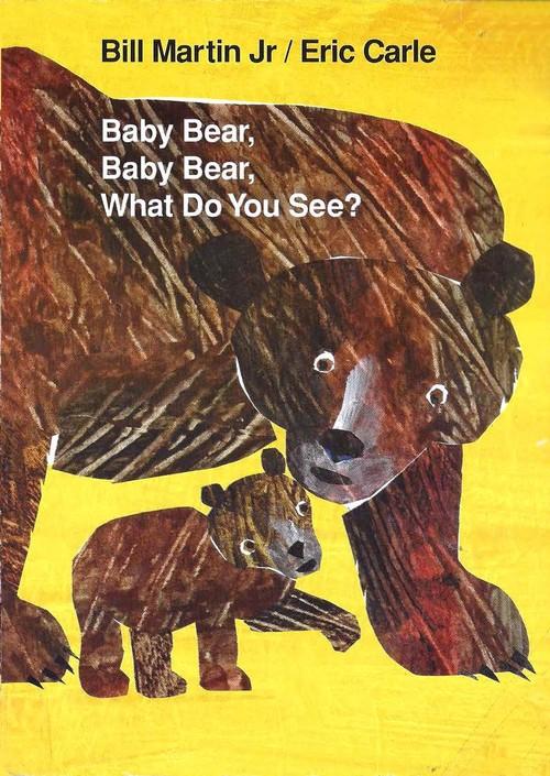 【卡爷爷】Baby bear what do you see_