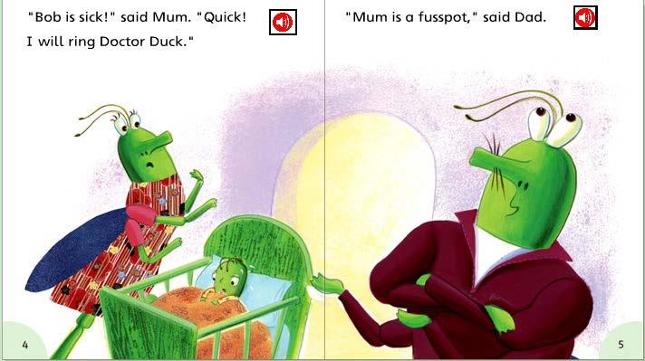 儿童英语幽默小故事_《外研社丽声拼读故事会》源自牛津阅读树 PDF点读版2级包含6本 ...