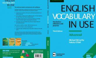 著名剑桥教材English Vocabulary in Use(最新2017版)