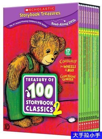 学乐Scholastic Treasury of 100 Storybook 原声绘本视频动画高清MP4 史上最棒的绘本动画