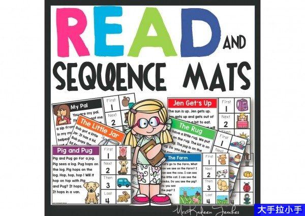 英语阅读+排序练习题,适合3-10岁的孩子 高清PDF 可打印百度网盘下载