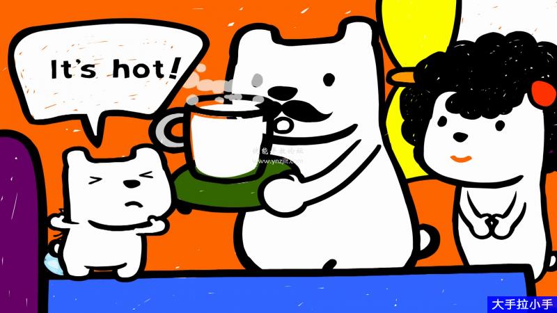 韩国幼儿英语启蒙动画Didi's Day,DIDI狗的一天,全31集带英文字幕百度网盘下载
